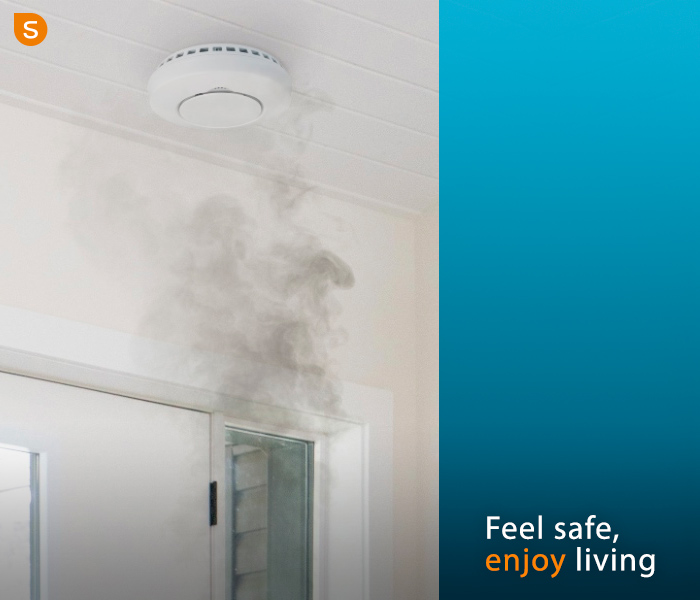 Clean and maintain your smoke alarm