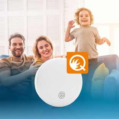Q-Label Smoke detectors