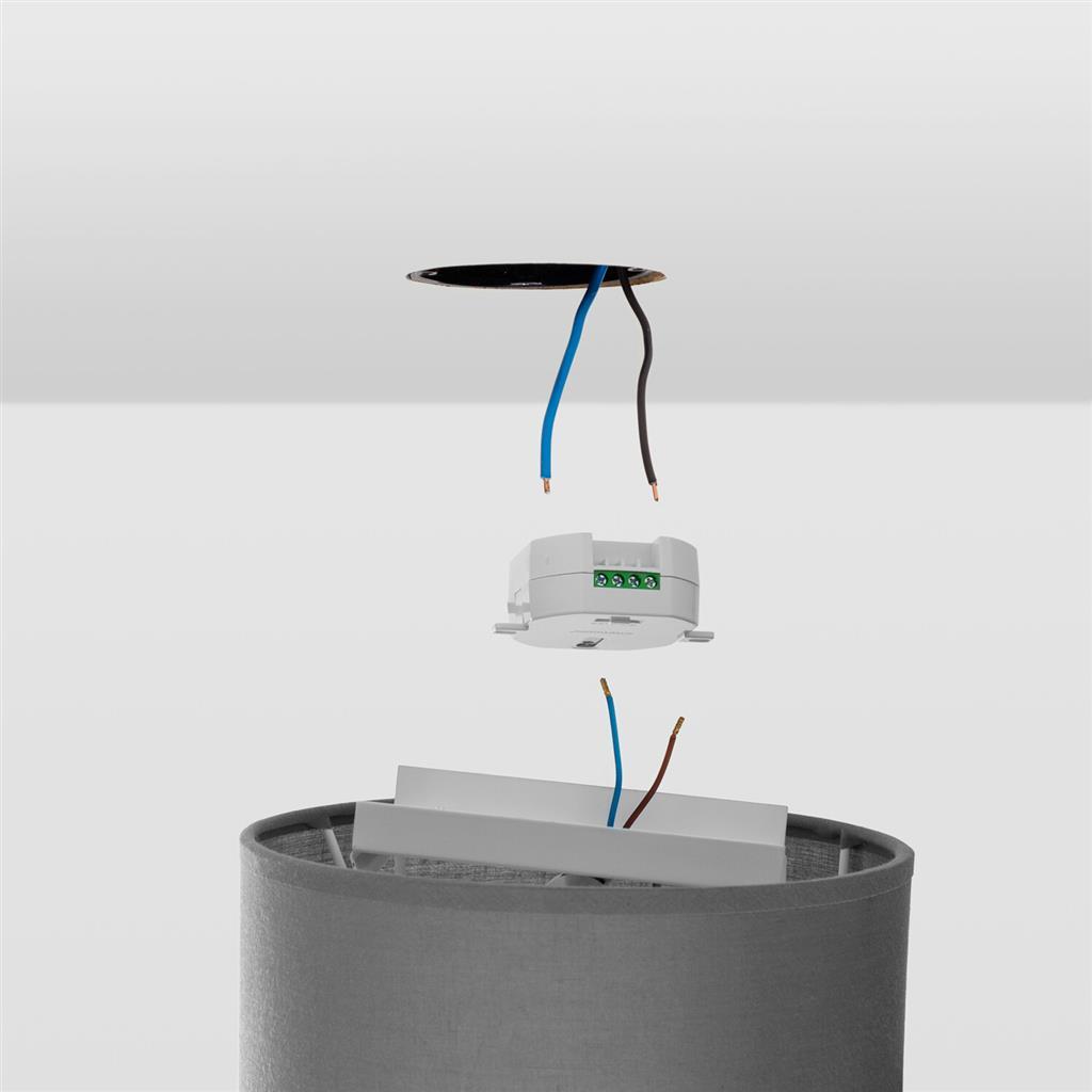 Smartwares SH5-RPS-36A R/écepteur domotique d/'int/érieur Variateur, Externe, Blanc, 220-240 V, 50-60 Hz, 433,92 MHz Gradateurs
