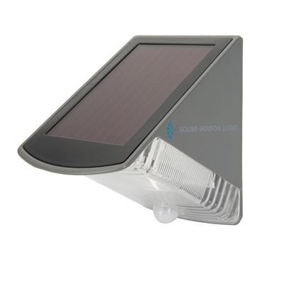 Ranex Solar-Wandleuchte LED Grau