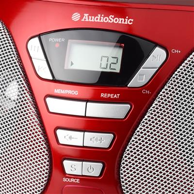 Audiosonic CD-1568 Stereo radio