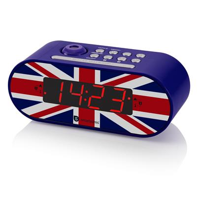 Smartwares CL-1678 Clock radio - UK flag