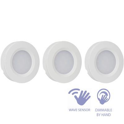 smartwares isl 60015 onderbouwverlichting 3x led spotje zwaaisensor