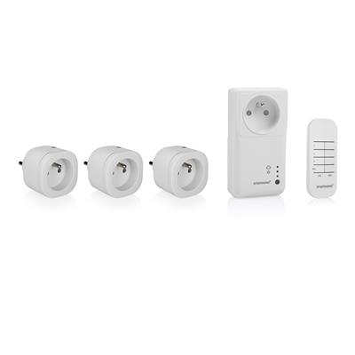 Smartwares SH4-99950FR Set de enchufes Smart