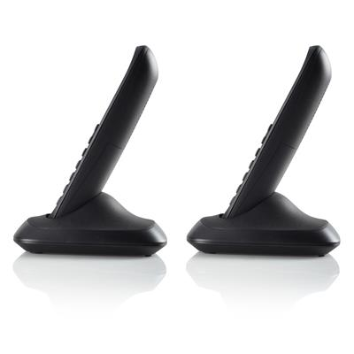 Topcom TE-5732 Cordless DECT-phone - Twin Black