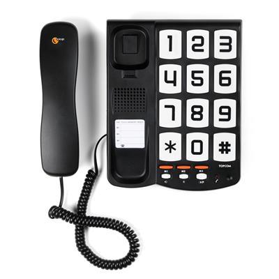 topcom sologic t101  Topcom TS-6650 Telefono con grandi tasti - Sologic T101 | Smartwares